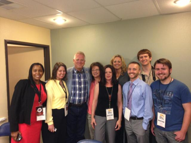 Glenn Beck took time out of his schedule to come and talk with us. Thanks, Glenn!
