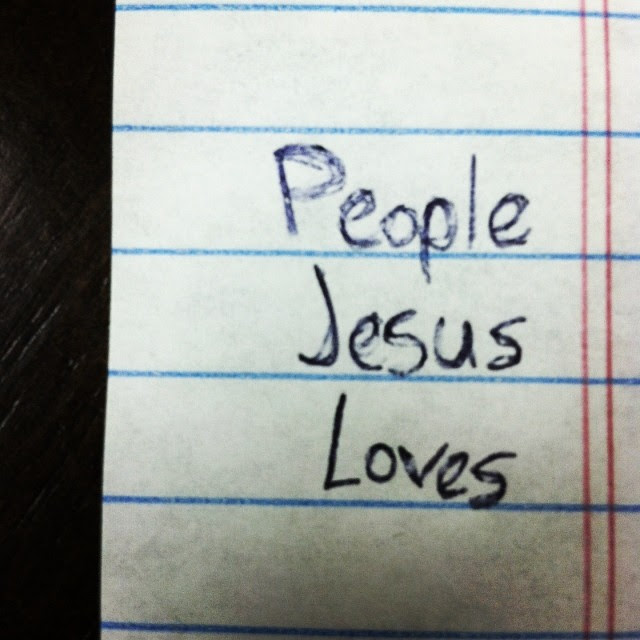 PeopleJesusLoves